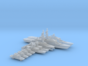 TAIWAN MISSILE BOAT set WL - 2400 in Smooth Fine Detail Plastic