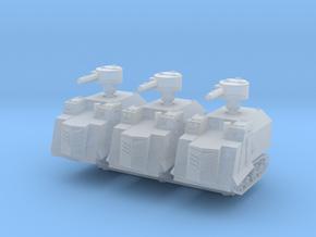 NI Odessa Type 2 Tank (x3) 1/285 in Smooth Fine Detail Plastic