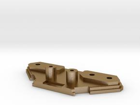 drivestack_rear in Polished Gold Steel