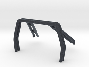 Roll Bar 1:20 scale for SCX24 Toyota Hilux Body in Black PA12