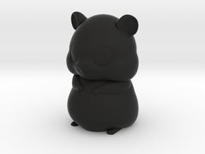 Hamster in Black Strong & Flexible