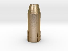 port_engine in Polished Gold Steel