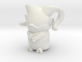 Ram_zodiac  in White Natural Versatile Plastic