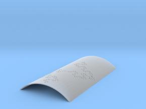 Koch Fractal Sconce in Smooth Fine Detail Plastic