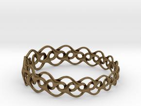Bracelet I Medium in Natural Bronze