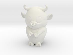 Taurus_zodiac in White Natural Versatile Plastic