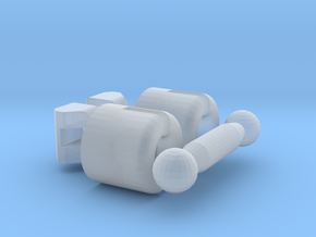Kogel Koppeling Spoor N in Smooth Fine Detail Plastic
