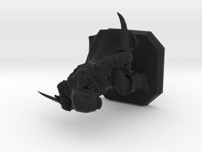 Thief miniature in Black Natural Versatile Plastic