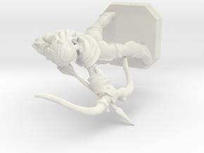 Archer in White Natural Versatile Plastic