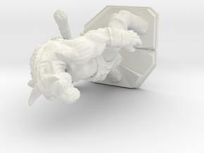 Minotaur 2 in White Natural Versatile Plastic