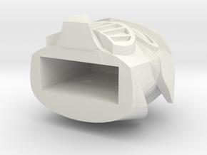 MadBot USB cap in White Natural Versatile Plastic