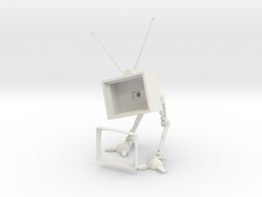 TV Bot  -v3 (Body n Frame) in White Strong & Flexible