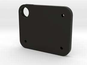 Flash Cover Holes in Black Strong & Flexible
