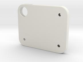 Flash Cover Holes in White Natural Versatile Plastic