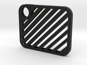 Flash Cover Slatted in Black Strong & Flexible