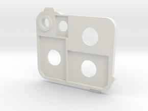 Flash holder SD in White Natural Versatile Plastic
