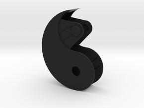 Yin Yang Box Small in Black Strong & Flexible