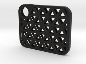 Flash Cover Triangles in Black Strong & Flexible