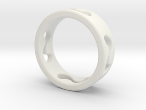ring_2 in White Natural Versatile Plastic