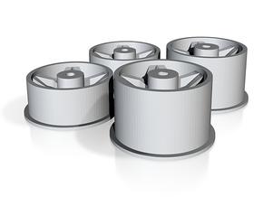 MT 5SH Set in Polished Bronzed Silver Steel