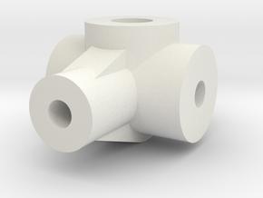JDH-control_flb.stl in White Natural Versatile Plastic