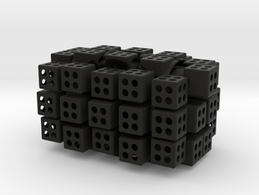 3x4x5 cuboid puzzle (fully functional) in Black Strong & Flexible