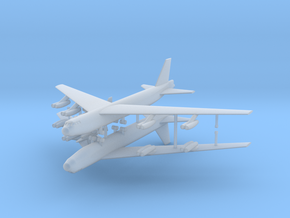 1/700 Experimental Aircraft Set 2 in Smooth Fine Detail Plastic