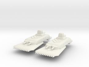 4 Cruiser x2 in White Natural Versatile Plastic