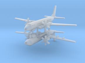 1/700 Ilyushin IL-114 Maritime Patrol (x2) in Smooth Fine Detail Plastic