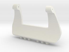 Buckle Hammer in White Natural Versatile Plastic