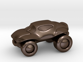 Smaller buggy in Polished Bronze Steel