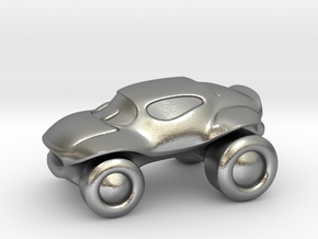 Smaller buggy in Natural Silver