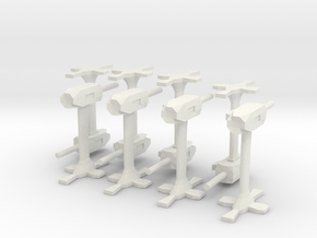 Base defence guns in White Natural Versatile Plastic