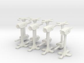 Base defence guns in White Natural Versatile Plastic
