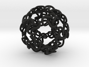 Spaghetti Ball in Black Strong & Flexible