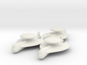 5 AWACS x3 in White Natural Versatile Plastic