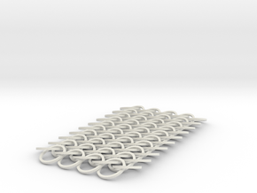 Chain Mail in White Natural Versatile Plastic