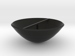 Parabolic Dish in Black Strong & Flexible
