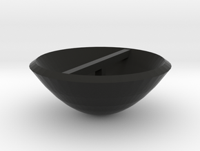 Smaller Dish in Black Strong & Flexible