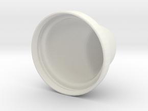 Tampa Bebedouro in White Natural Versatile Plastic