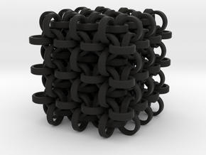 Ring Cube in Black Strong & Flexible