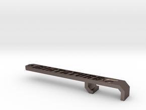 Miata Turbo Keychain - Design B - Sunken in Stainless Steel