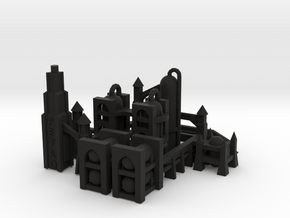 Gothic Refinery in Black Strong & Flexible