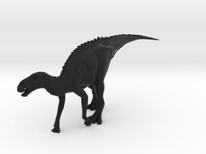 Dinosaur Brachylophosaurus Large HOLLOW in Black Strong & Flexible