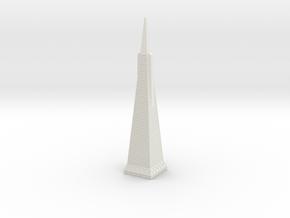 Transamerica Pyramid in White Strong & Flexible