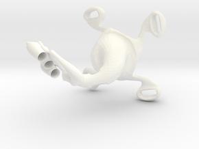portalápices in White Processed Versatile Plastic