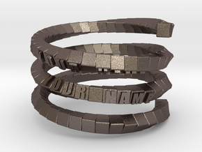 Napkin ring - Block helix in Stainless Steel