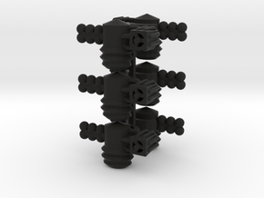 8 Satellite Type 3 x6 in Black Strong & Flexible
