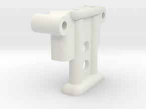 3165 Truck Column 3119 in White Natural Versatile Plastic