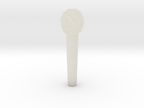 Microphone in Transparent Acrylic